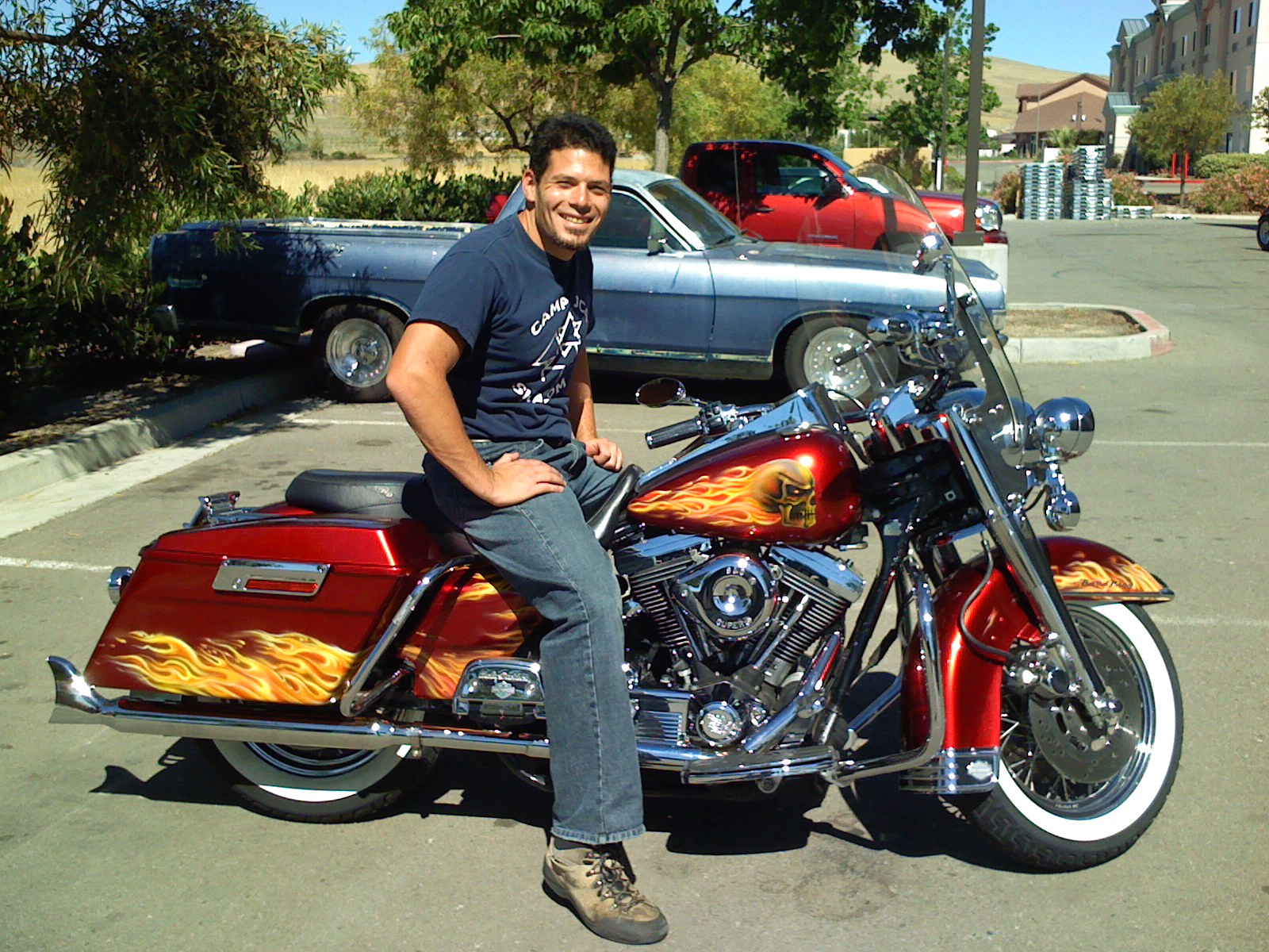 Brother Tom, my Harley Davidson Road King FLHR | 1TO10REVIEWS